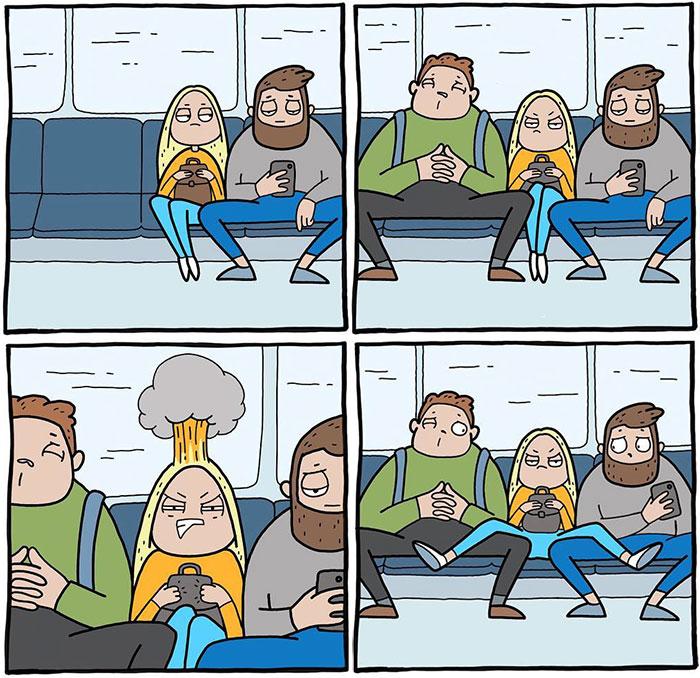 Mädchen Probleme in 31 Comics humorvoll illustriert von der russischen Künstlerin Anastasia Ivanova