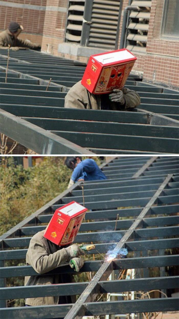 Protección para soldadores