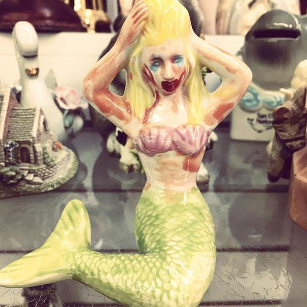 This Mermaid Has Seen Some Things