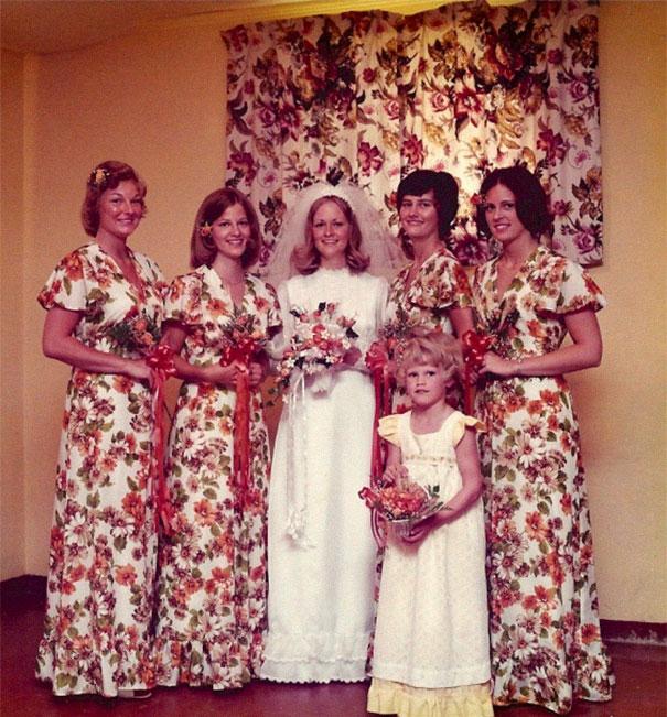 Funny-Vintage-Bridesmaids-Dresses