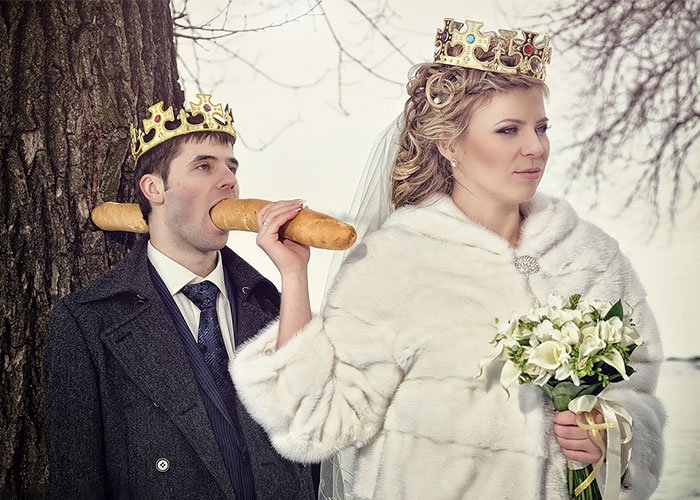 30+ Awkward Russian Wedding Photos That Are So Bad They're Good