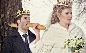 30+ Extrañas fotos de bodas rusas tan malas que son buenas
