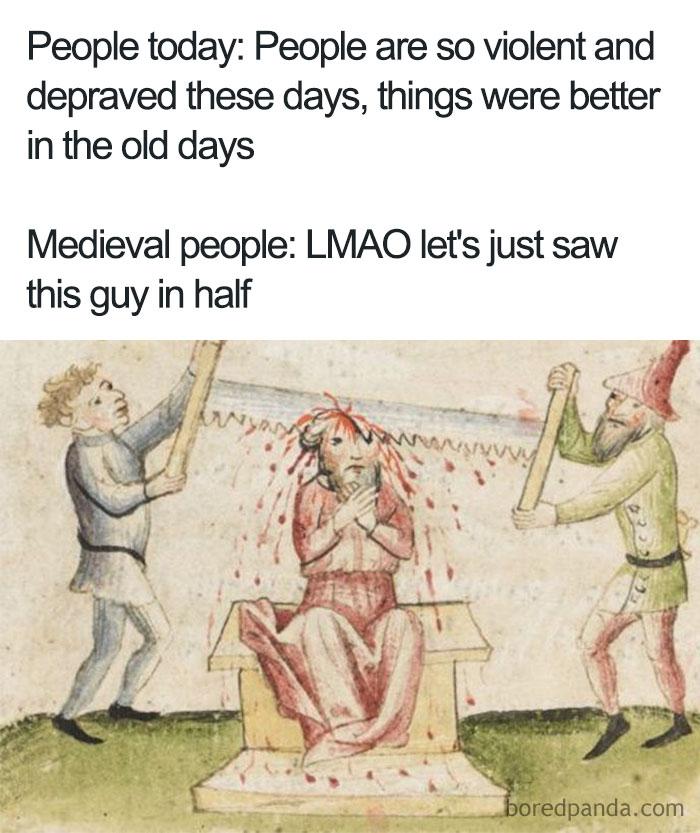 Ahh, The Good Ol' Days