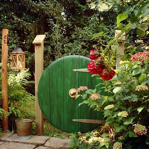I Made A Hobbit Garden Gate From An Old Tabletop.