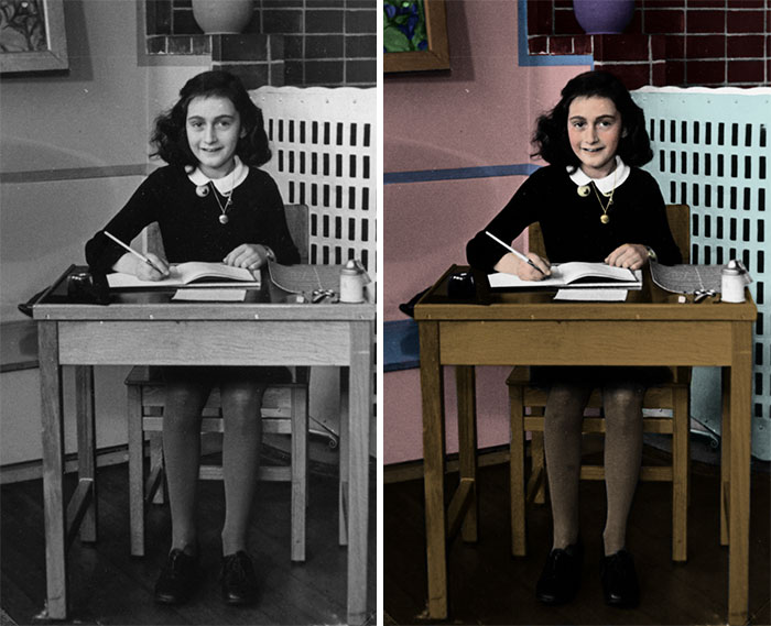 Hay personas que no saben mucho sobre el Holocausto, así que coloricé estas 10 fotos