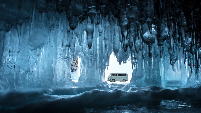 Winter In Siberia, On Lake Baikal