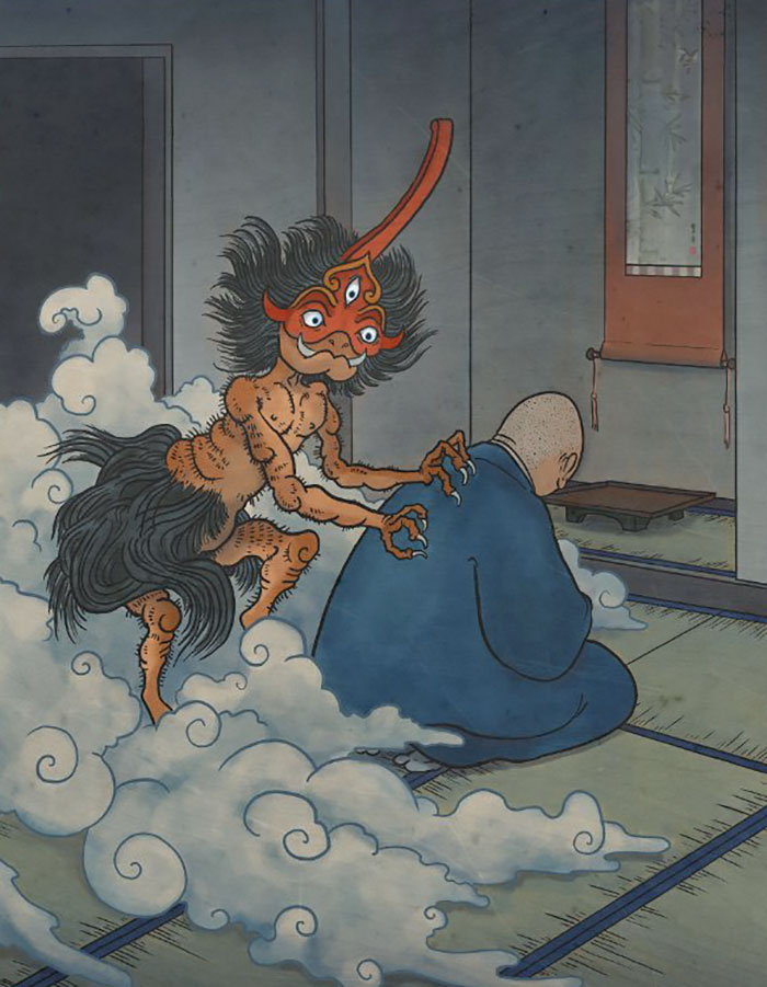 criaturas mitológicas japonesas Nyoijizai