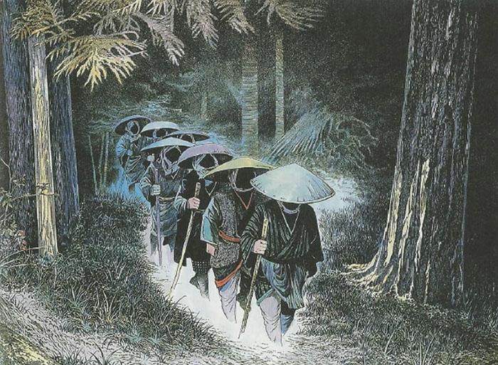criaturas mitológicas japonesas Shichinin Misaki