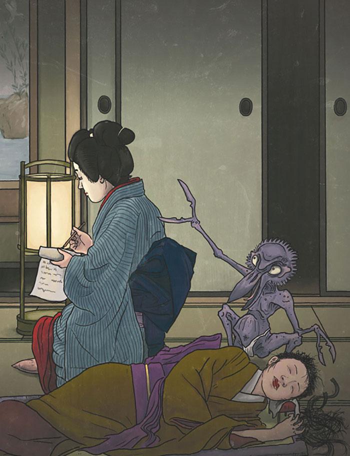 criaturas mitológicas japonesas Kami-Kiri