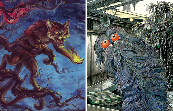 Japan Has The Weirdest Mythological Creatures, And Their Stories Will Make Your Skin Crawl