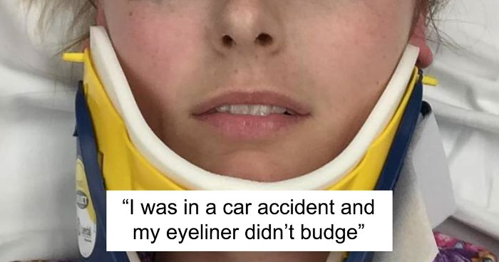 Woman S Review Of Eyeliner That Stays Intact Through Harrowing Car