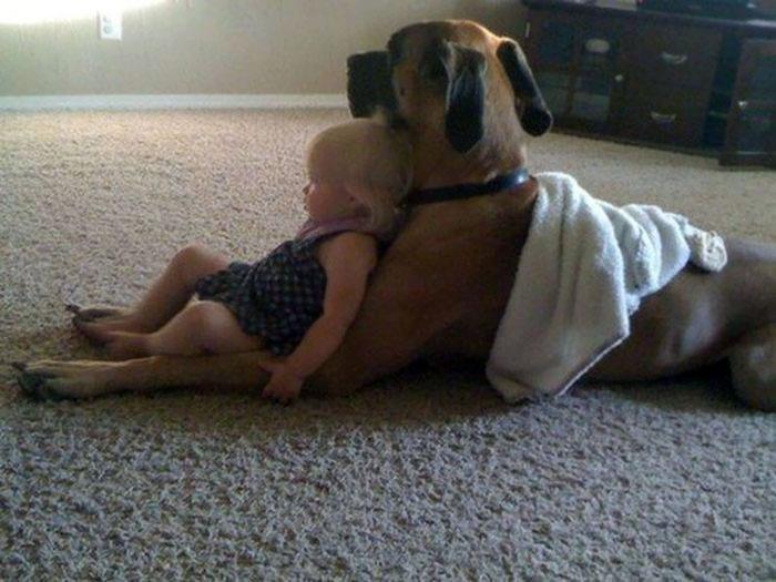 Watching TV With Bestie