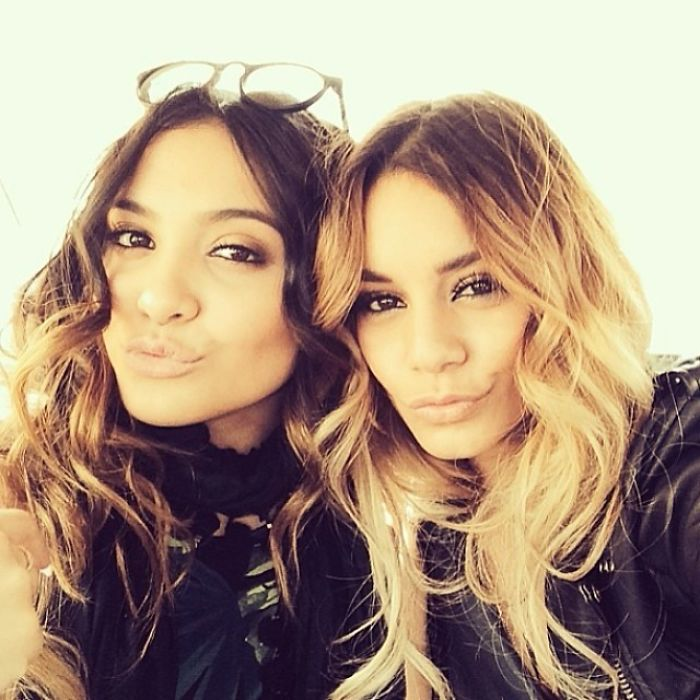 Vanessa Hudgens With Her Sister Stella