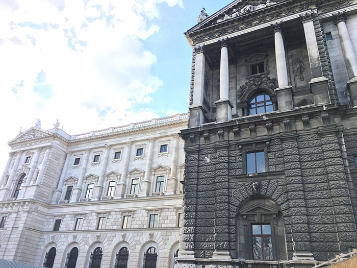 Took This Photo Of The Hofburg Imperial Palace While In Austria. They're In The Process Of Cleaning Off Years Of Buildup
