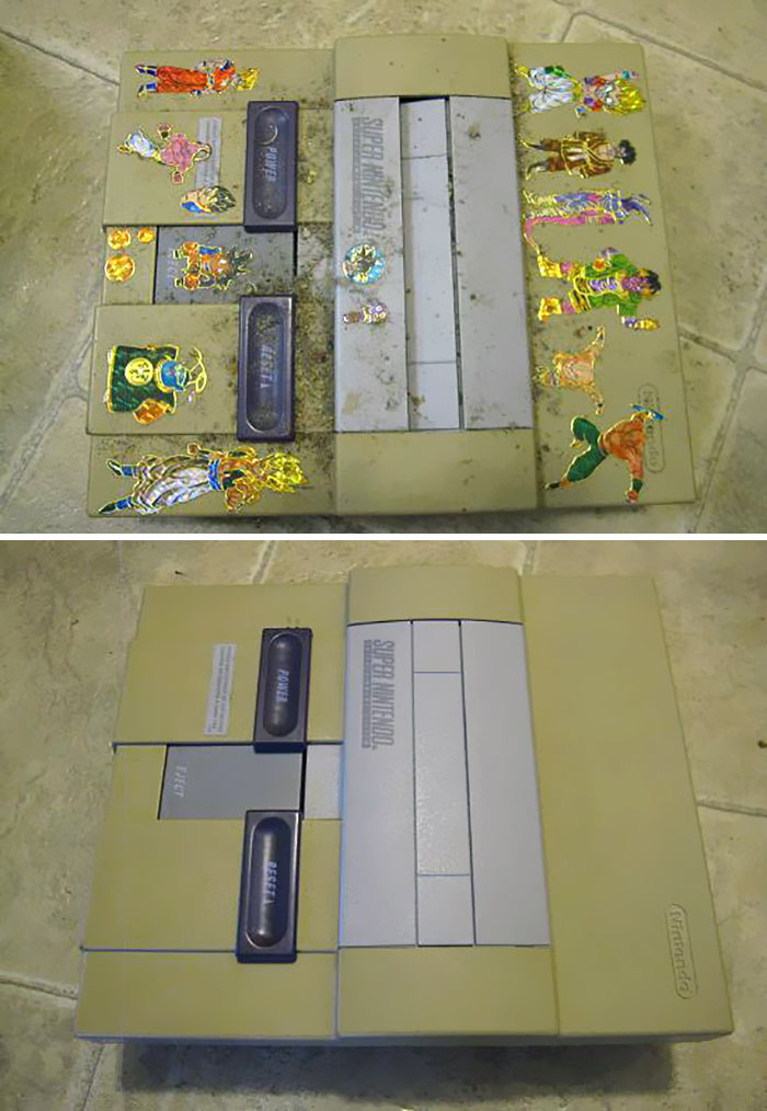 I Cleaned Up This Snes, Inside And Out. Took About 4 Hours