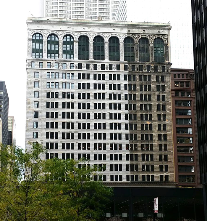Chicago's National Building In The Middle Of A Facelift