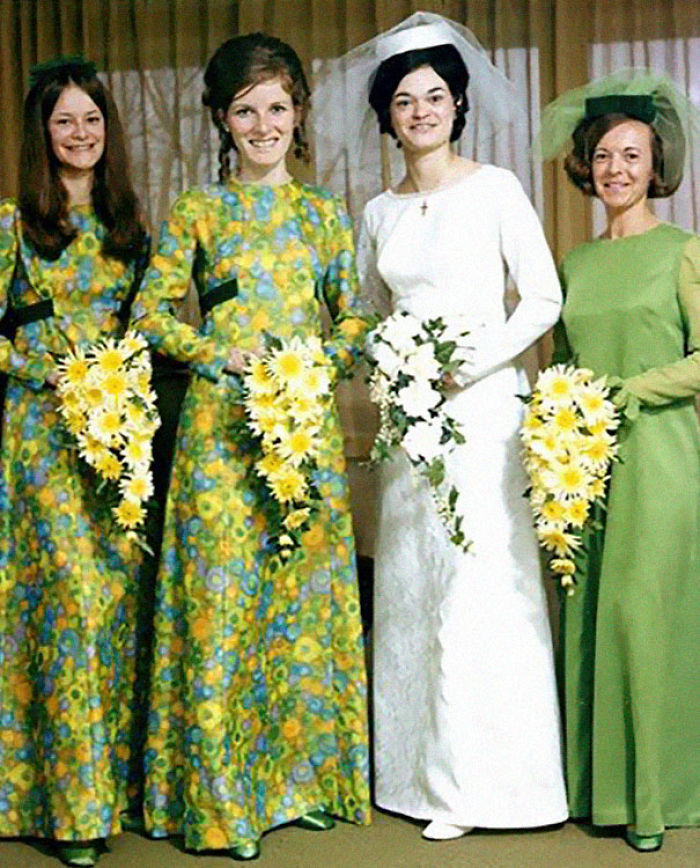 Funny Wedding Gowns: Funny-Vintage-Bridesmaids-Dresses