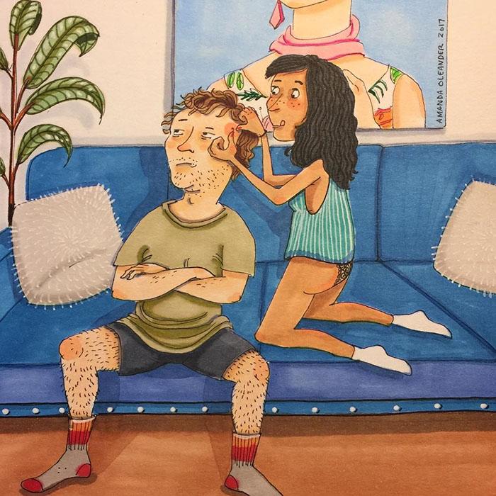 Illustrations de relations