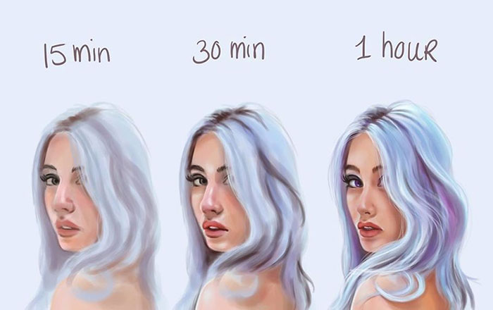 Artist Shows How Much Time She Actually Needs To Perfect One Drawing
