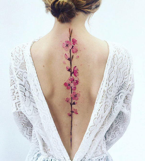 30 Of The Best Spine Tattoo Ideas Ever Bored Panda