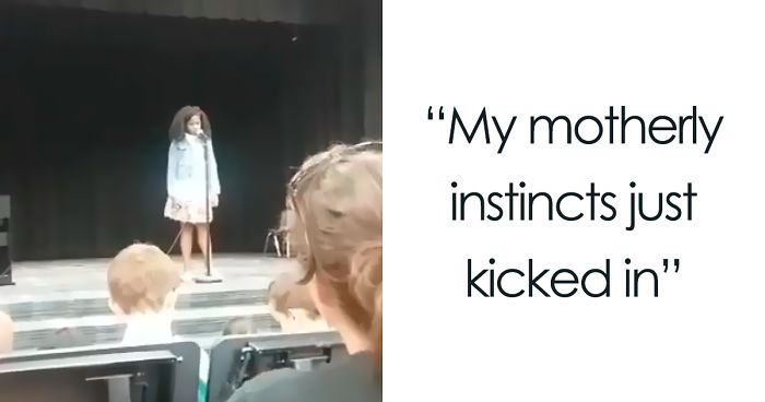Mother Saves Her Daughter During A Talent Show, And Now Everyone Is Crying
