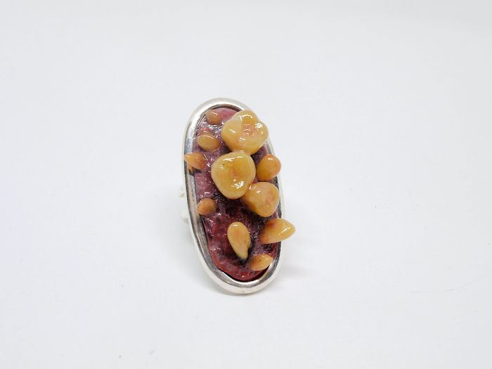 I Made This Teeth Jewelry Of Polymer Clay