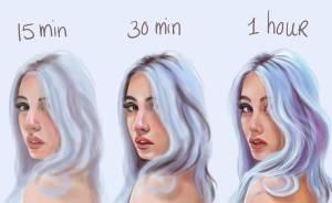 Esta artista muestra lo mucho que se tarda en realidad en perfeccionar un dibujo