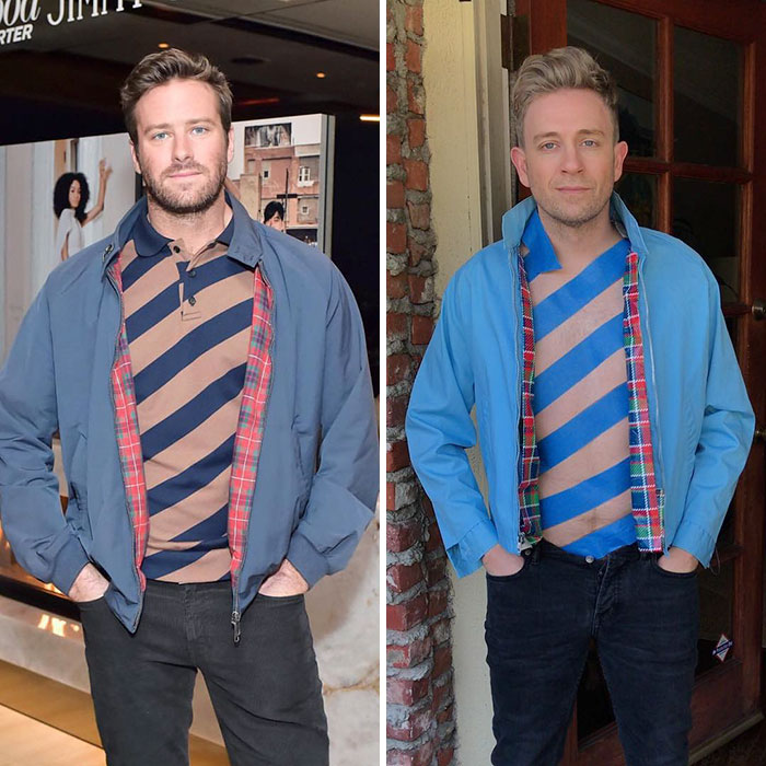 Tom Lenk As Armie Hammer