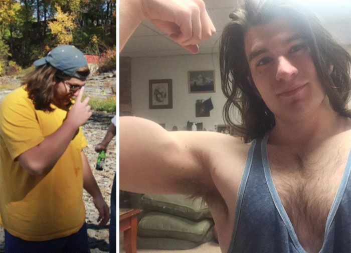 Internet Goes Crazy About Man Who Looks Like Disney Prince After Losing 70 Lbs While Taking Care Of His Sick Mom