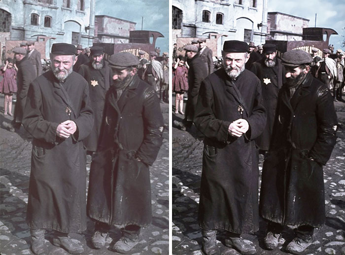 Restored Color Photograph - Poland - 1939-40