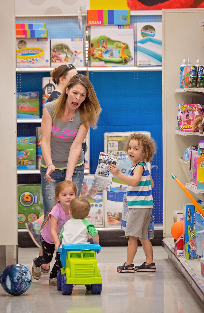 Motherhood Is Never Shopping In Peace