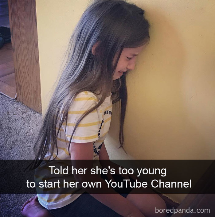 Told Her She's Too Young To Start Her Own Youtube Channel