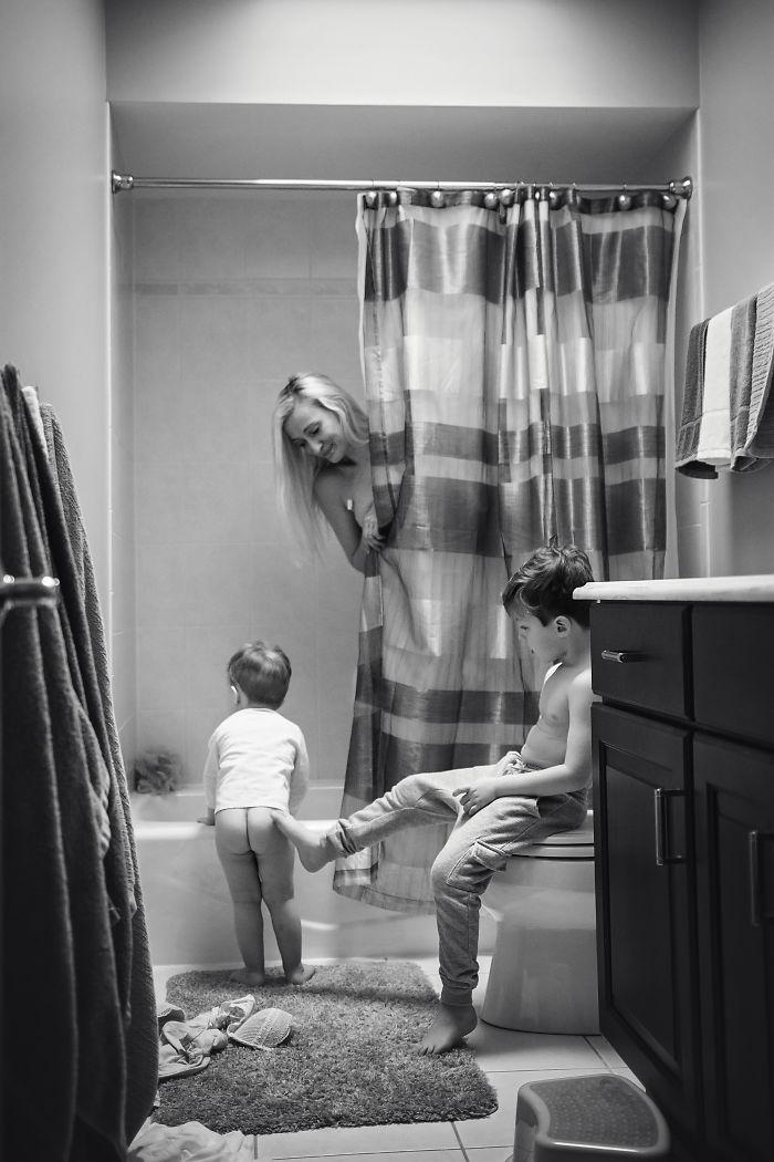 Motherhood Is Never Showering In Peace