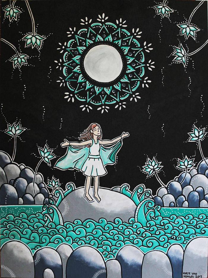 I Create Magical Illustrations By Hand