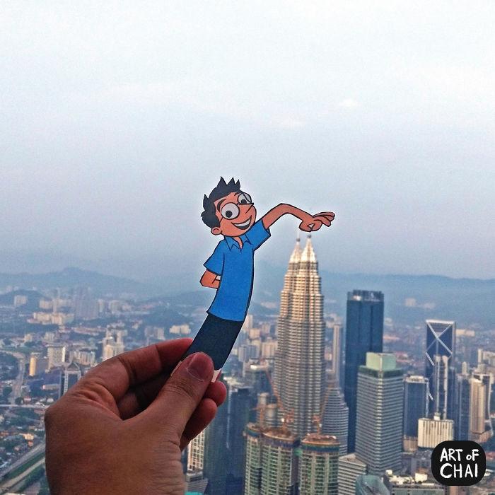 Doing Touristy Things In Kuala Lumpur