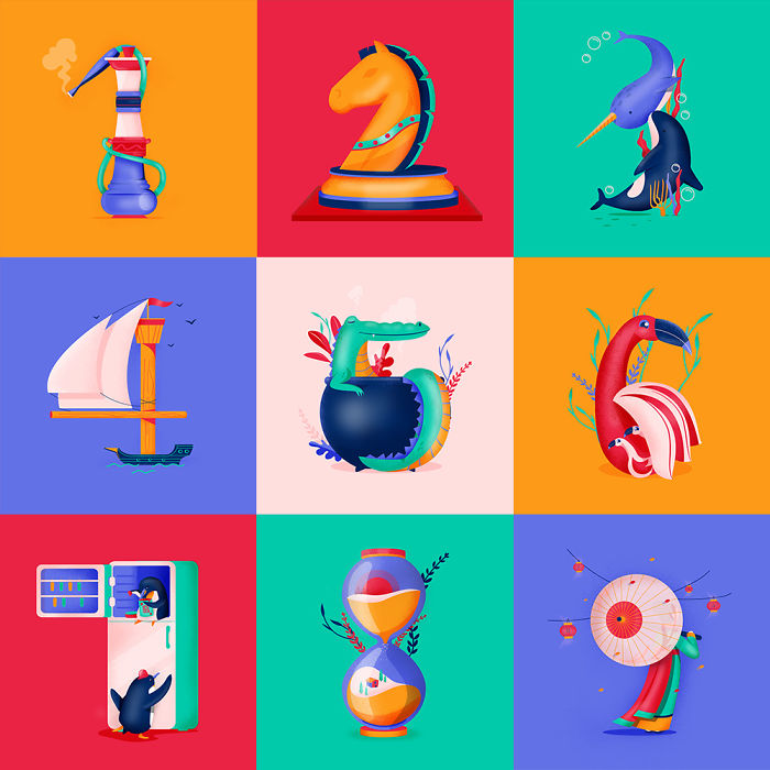 36 Days Of Type In Great Illustrations
