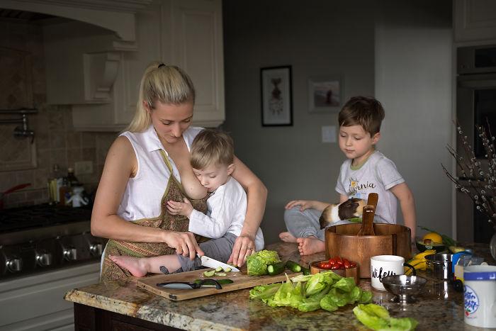 Motherhood Is Breastfeeding Whenever Wherever