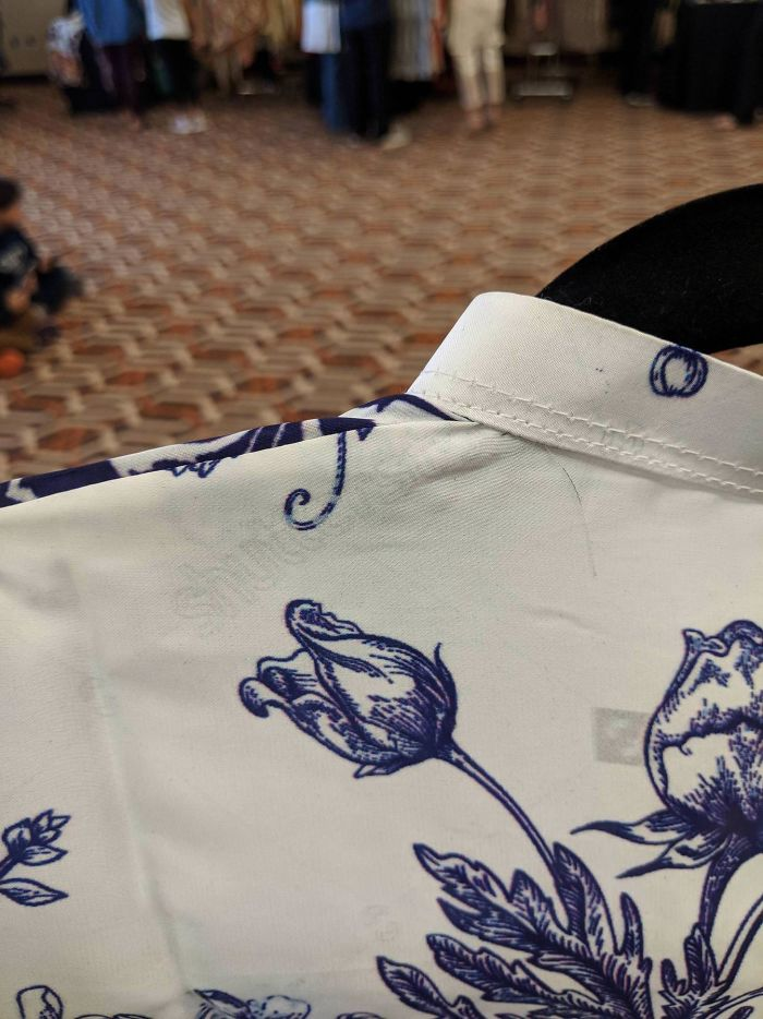 This Pakistani Dress Has A Shutterstock Watermark On It
