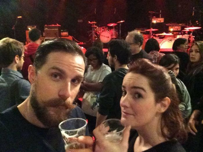 Gilles Leclerc And Marianne Labanane Took A Selfie At The Bataclan Theatre As They Waited To See The Eagles Of Death Metal Perform. Moments Later, 4 Gunmen Stormed In And Started Shooting. Gilles Was Killed In The Attack, But Marianne Survived