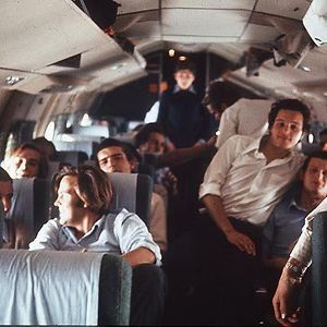 Last Image Of Uruguayan Flight 571, Before It Crashed In The Andes On 13-10-1972. 27 Out Of 45 People Survived The Initial Crash. Survivors Were Eventually Forced To Cannibalize The Dead To Stay Alive. 16 People Were Rescued 72 Days Later