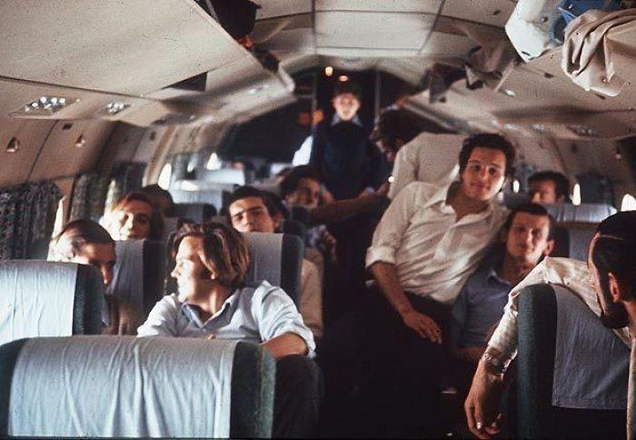 Última imagen del vuelo uruguayo 571 antes de estrellarse en los Andes en 1972. Rescataron a 16 personas 72 días después. Tuvieron que comerse a los muertos para sobrevivir.