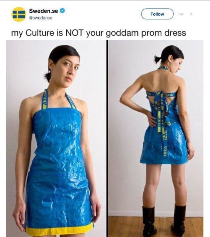 My Culture Is Not Ur Prom Dress