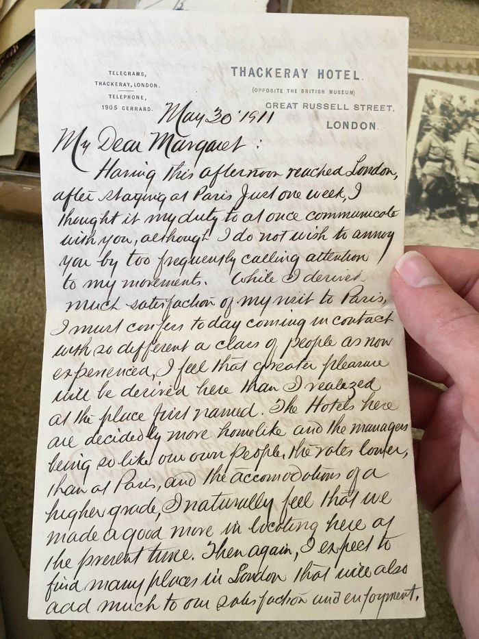 A Letter My Great-Great-Grandfather Wrote