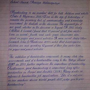 8th Grade Nepali Student