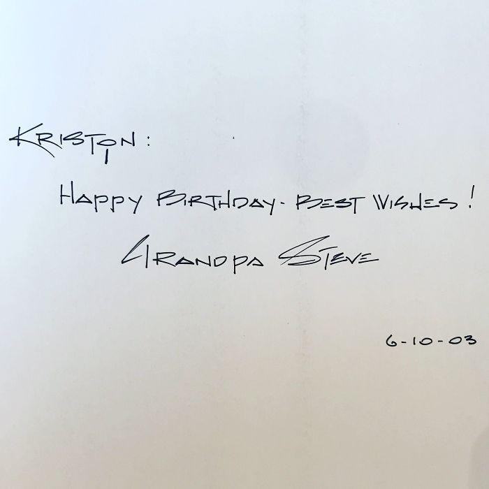 My Late Gandfather's Handwriting