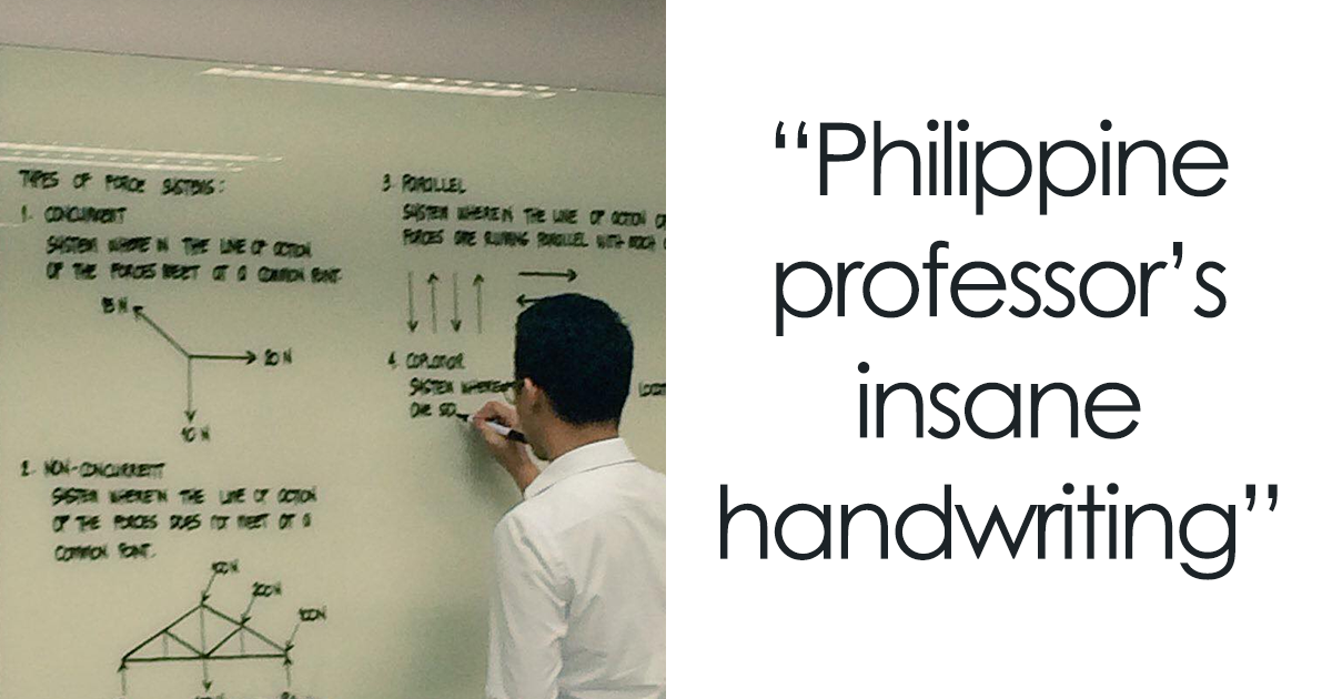 20+ Times People Found Some Truly Perfect Handwriting Examples That Were Too Good Not To Share