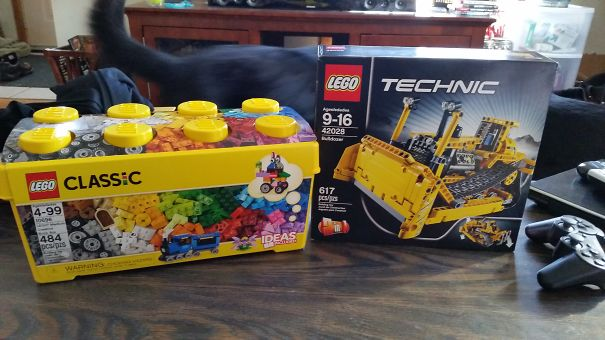 My Mom Got Me Legos For My Birthday. I'm 27. It's Party Time