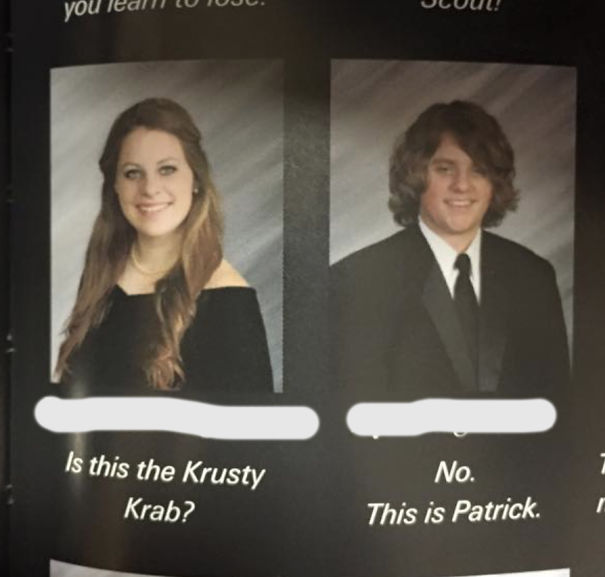 Is This The Krusty Krab? No. This Is Patric
