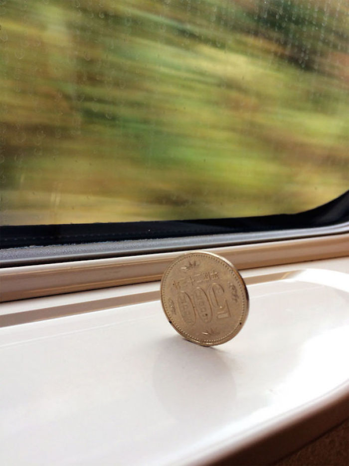 This Is How Smooth The Bullet Train Is In Japan