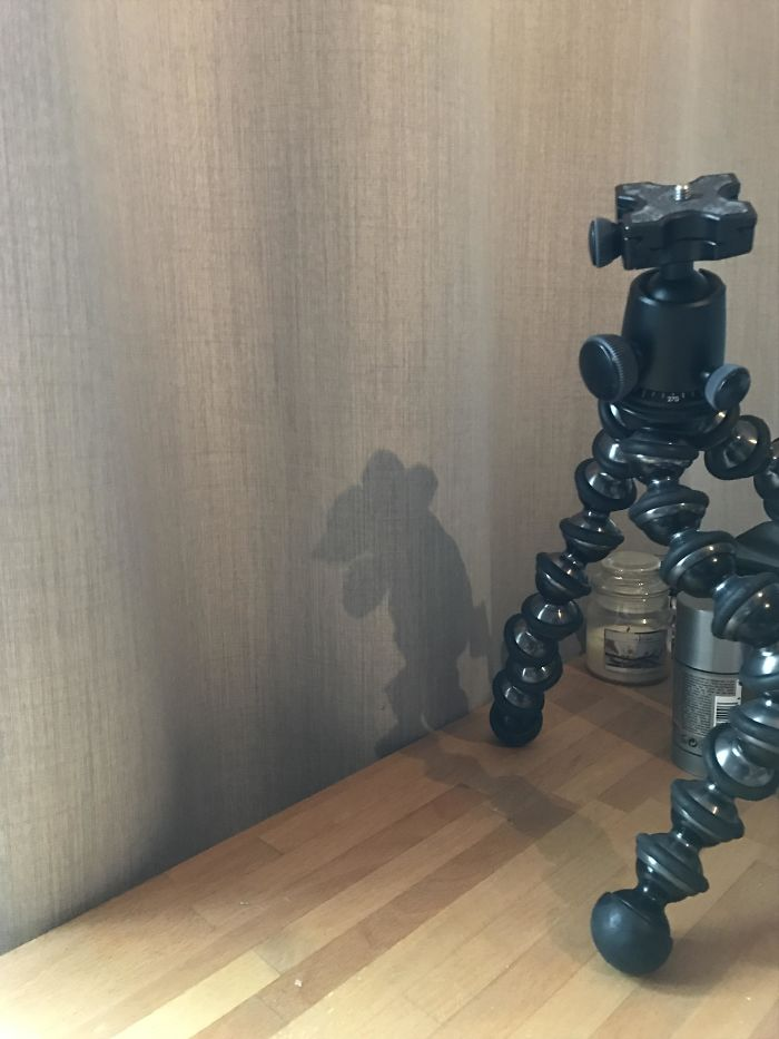 The Shadow Of My Gorillapod Created A Vicious Mouse